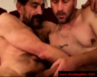 Straight Horny Mature Bears Oral Fun - scene 8