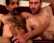 Straight Horny Mature Bears Oral Fun - scene 9
