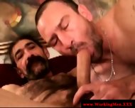 Straight Horny Mature Bears Oral Fun - scene 11