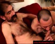 Straight Horny Mature Bears Oral Fun - scene 5