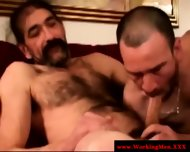 Straight Horny Mature Bears Oral Fun - scene 6