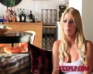 Young Perky Blonde Beauty - scene 1