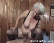 Pro 70plus Granny On Top Pounding - scene 5