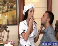 Supple Brunette Beauty Licked And Fucked - scene 2