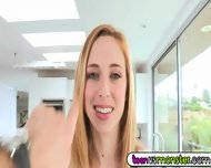 Taylor Is An Innocent, Sweet Looking Blonde From Florida - scene 1