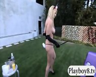 New Hot Singles Enjoyed Some Nasty Games Outside The Mansion - scene 9