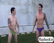 New Hot Singles Enjoyed Some Nasty Games Outside The Mansion - scene 5