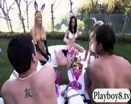 New Hot Singles Enjoyed Some Nasty Games Outside The Mansion - scene 6