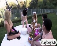 New Hot Singles Enjoyed Some Nasty Games Outside The Mansion - scene 7