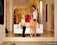 Catie Parker And Skylar Green Lesbosex With Their Friend - scene 1