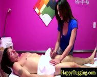Hot Oriental Masseuse Paid To Suck - scene 1