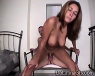 Young South American Babe Gets Her Tight Pussy Smashed - scene 5