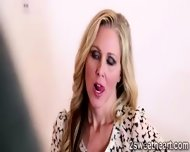 2 Superb Lesbian Milf Kiss Each Other And Get Nasty At The Office - scene 1