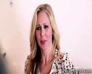 2 Superb Lesbian Milf Kiss Each Other And Get Nasty At The Office - scene 2