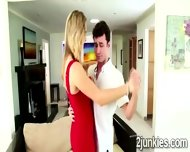 Filthy Milf Seduces A Young Stud With Teasing Dance Lessons - scene 1