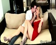 Filthy Milf Seduces A Young Stud With Teasing Dance Lessons - scene 11