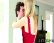 Filthy Milf Seduces A Young Stud With Teasing Dance Lessons - scene 3
