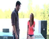 Tattooed Masseuse Has A Hunky Client To Please With Her Body - scene 3