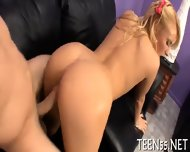 Teen Fucked By Two Big Stags - scene 11