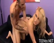 Teen Fucked By Two Big Stags - scene 12