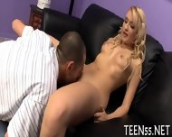 Teen Fucked By Two Big Stags - scene 5