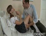 Juicy Teen Enjoys Rear Screwing - scene 3