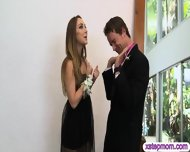 Teen Couple Prom Night Threesome With Huge Juggs Step Mom - scene 1