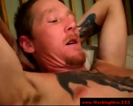 Mature Dilf Straight Gives Friend Facial - scene 11