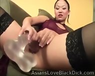 Whoriental Beauty Goes Naughty In Front Of The Camera - scene 11