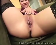 Whoriental Beauty Goes Naughty In Front Of The Camera - scene 6