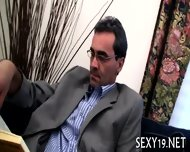 Threesome Sex With Teacher - scene 1
