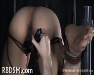 Clamping Beauty S Knockers - scene 10