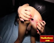 Thai Tranny Shows Her Gaping Butthole - scene 8