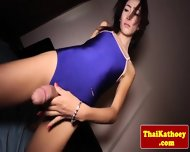 Thai Tranny Shows Her Gaping Butthole - scene 2