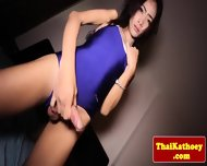 Thai Tranny Shows Her Gaping Butthole - scene 3