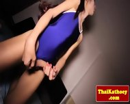 Thai Tranny Shows Her Gaping Butthole - scene 4