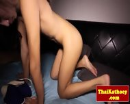 Thai Tranny Shows Her Gaping Butthole - scene 6