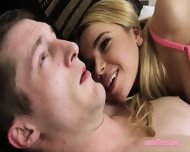 Tiny Titted Blonde Teen Alina West Facialized By Big Dick - scene 2