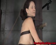 Restrained Sub Spanked And Throatfucked - scene 8