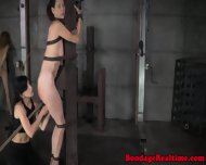 Restrained Sub Spanked And Throatfucked - scene 10