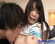 Slutty Young Asian Babe Sucvking Hard Cocks - scene 2