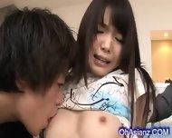Slutty Young Asian Babe Sucvking Hard Cocks - scene 2