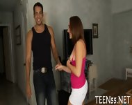 Cute Teen Rudely Used & Fucked - scene 6