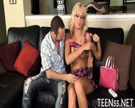 Teen Sucker Challenges A Cock - scene 3