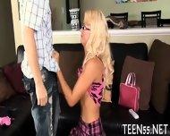 Teen Sucker Challenges A Cock - scene 4