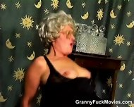 Hairy Granny Snatch Dicked - scene 4