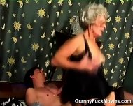 Hairy Granny Snatch Dicked - scene 5