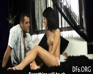 Big Guy Deflowers His Gf - scene 2