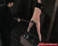 Female Slave Gets Tortured With Whips Clams And Toys - scene 5