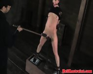 Female Slave Gets Tortured With Whips Clams And Toys - scene 6